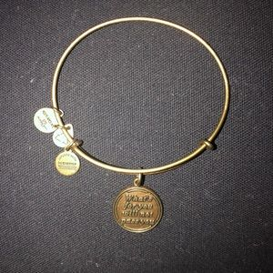 Gold 'What's For You Will Not Pass You' Alex & Ani
